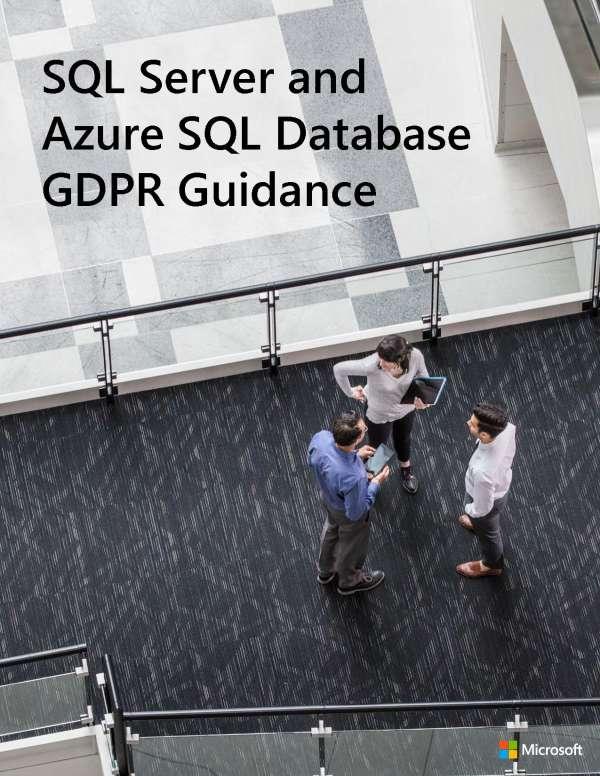 DSGVO-Leitfaden zu SQL Server und Azure SQL-Datenbank