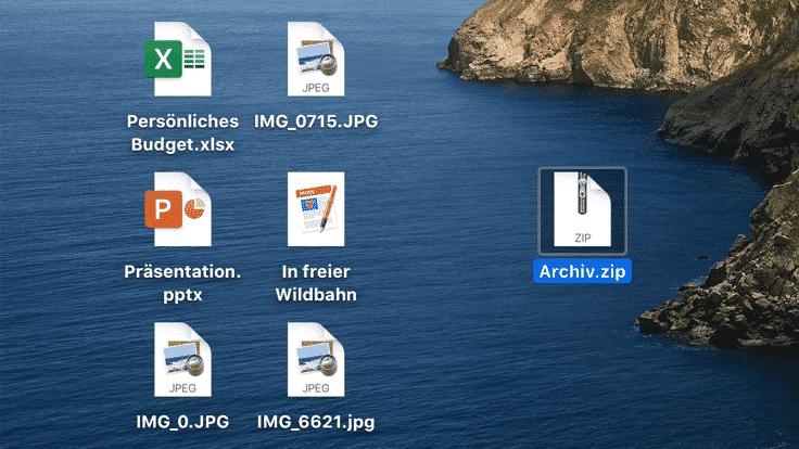 Clever komprimieren auf dem Mac
