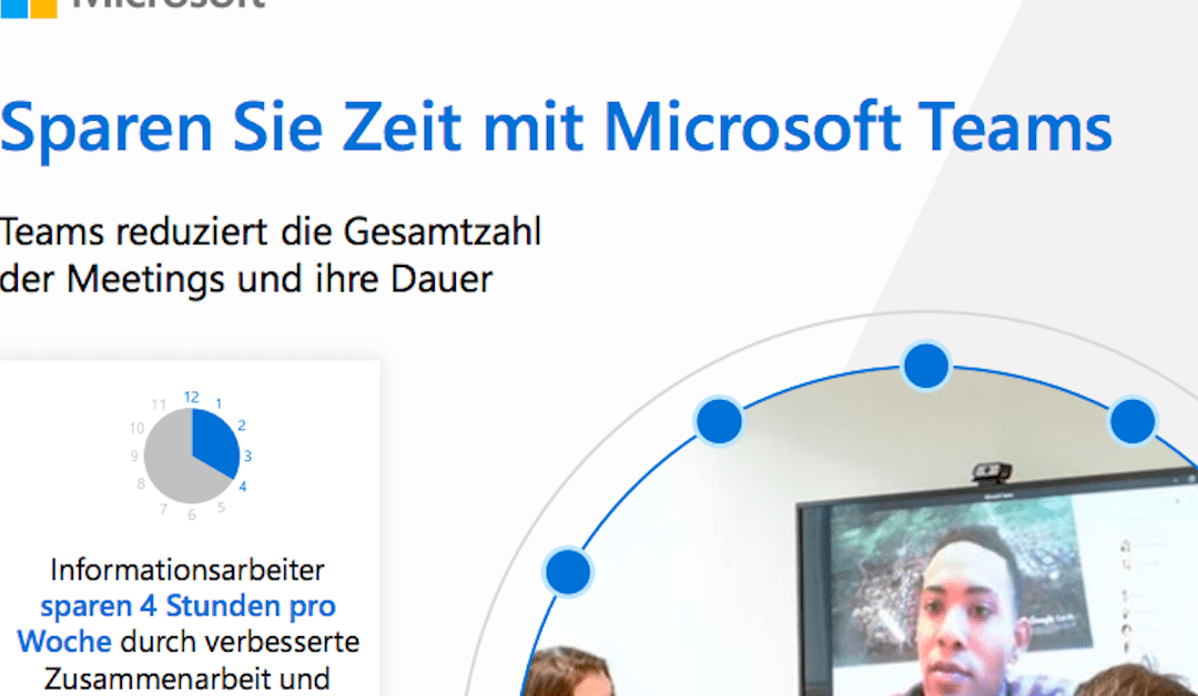 Zeit sparen mit Microsoft Teams
