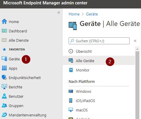 Hybrid Azure AD Einbindung+ Intune Registrierung einrichten