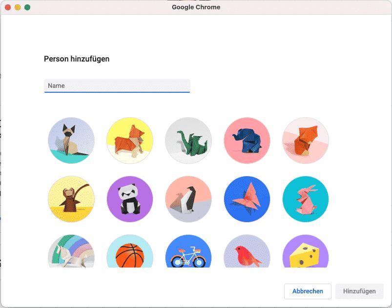 Neues Profil oder Nutzer in Google Chrome hinzufügen