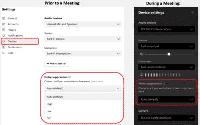 Nebengeräusche unterdrücken in Microsoft Teams – Für Mac verfügbar