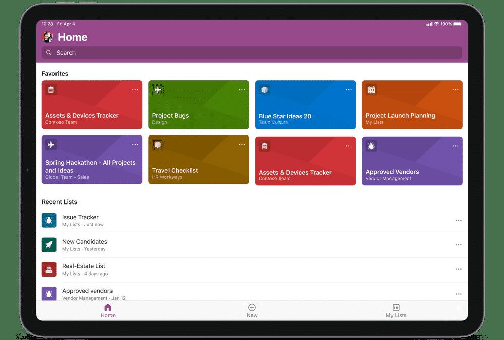 Microsoft Listen jetzt auch mit voller iPadOS Unterstützung