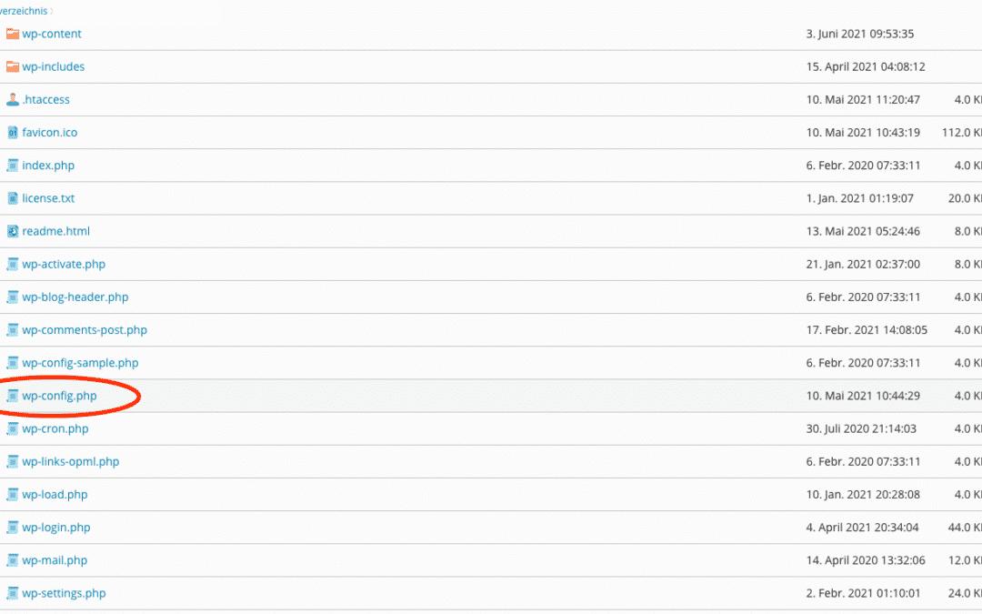 Alle Dateitypen für den WordPress Upload erlauben