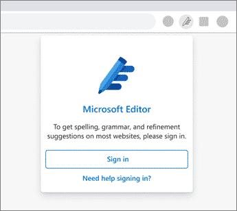 Microsoft-Editor: Dein intelligenter Schreibassistent.
