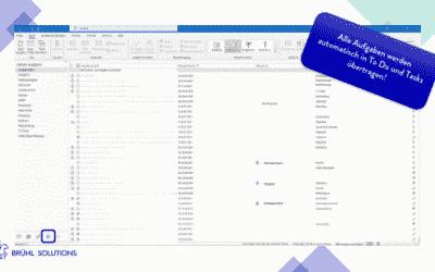 Aufgabenmanagement mit Outlook