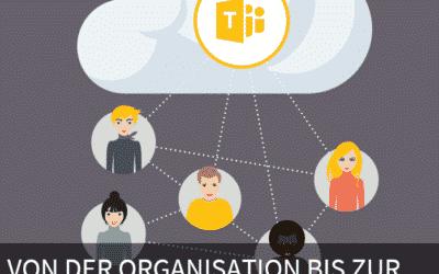 Von der Organisation bis zur Dokumentation – Onlinekurse in Teams