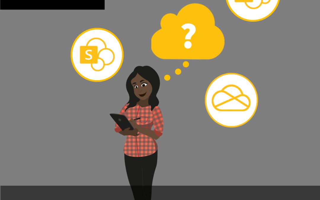 SharePoint, Teams oder OneDrive? Wo speichere ich eigentlich was?