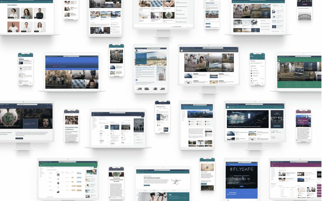 SharePoint Lookbook: Offizielle Inspirationen